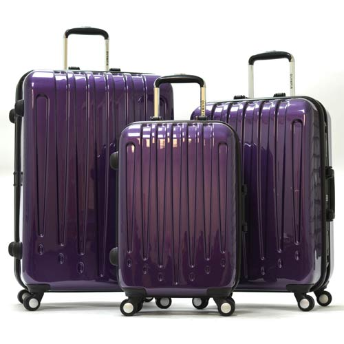 Shell Purple Luggage