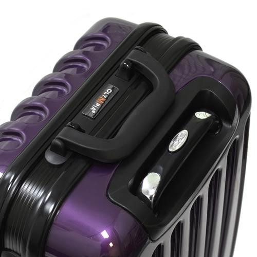 Shell Purple Luggage