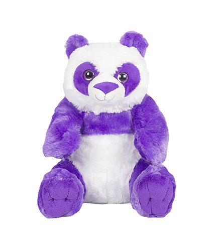 Plush Purple Panda Bear