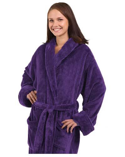 910be0e89f Purple Bathrobe for Men or Women Purple Bathrobe for Men or Women ...