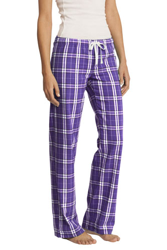 Purple Pajama Pants for Women/Juniors