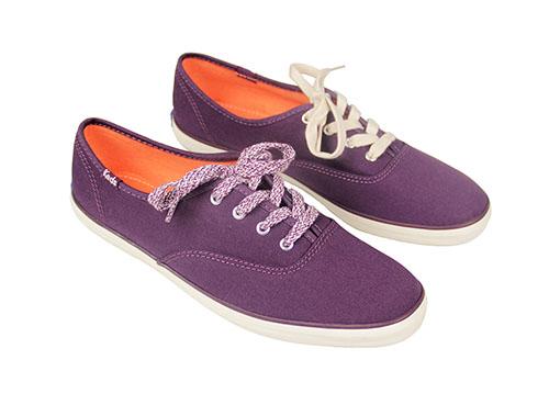 Keds Dark Purple Shoes with Purple