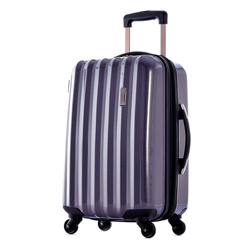 Hard-Shell Purple Luggage