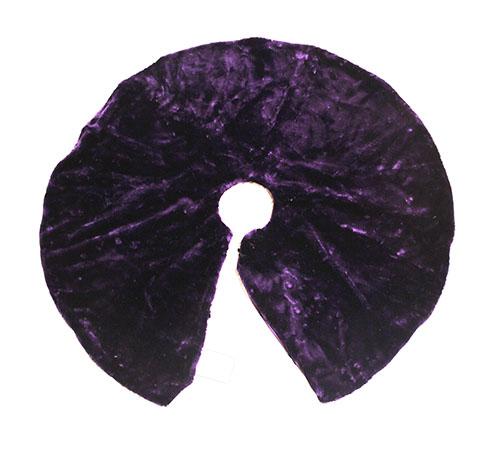 - Plush Purple Tree Skirt €� Only A Few Left!