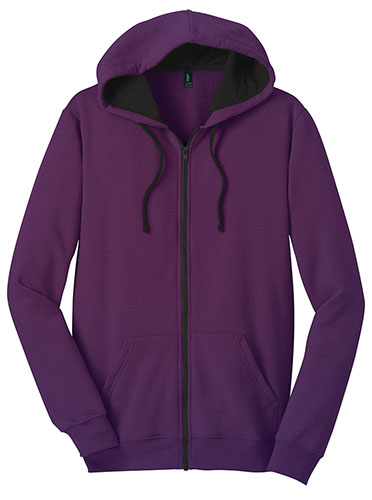 Fit Purple Hoodie with Black Lining