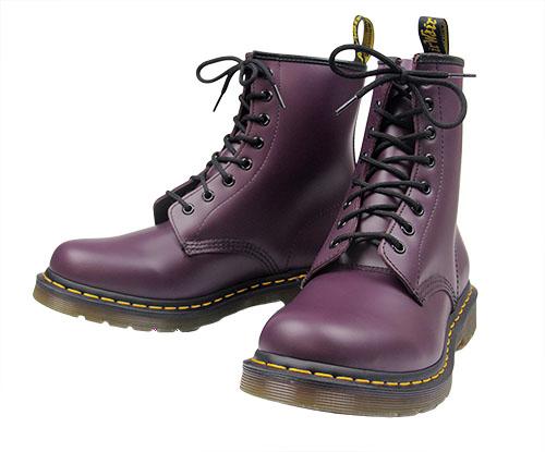 3bbe228b0b Purple Doc Martens, Smooth