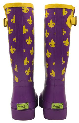 de Lis Purple Rain Boots