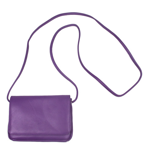 2130937c3f Mini Purple Leather Crossbody Bag