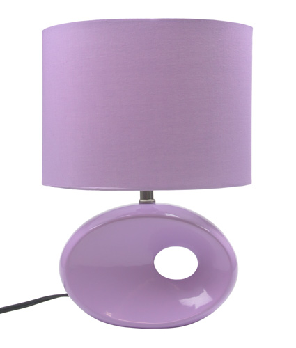 Retro Lavender Table Lamp
