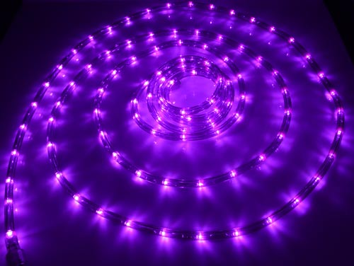 18 Led Purple Rope Lights