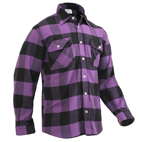 7273acc46b2 Men's Purple Plaid Flannel Shirt Men's Purple Plaid Flannel Shirt ...