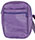 "Unisex Purple Leather ""Carry All"" Bag, Large"
