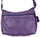 "The ""Everything Hobo"" Large Hobo Handmade Purple Leather Purse with Hidden Pocket"