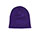 Solid Knit Purple Beanie