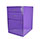 Purple File Cabinet