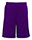 Purple Mesh Shorts with Side Pockets
