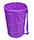 Purple Laundry Hamper