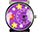 Purple Kids Watch - Red and White Daisy Flowers