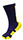 Hi Tech Purple Athletic Socks with Gold Pattern