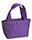 Insulated Purple Cooler Bag