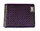 Hi Feature Carbon Fiber Purple Wallet with RFID