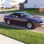 1994 Pearl Metallic Purple Camaro (purple car photo)
