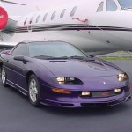 1997 Bright Purple Camaro (purple car picture)
