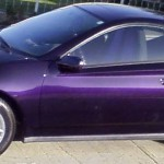 2001 Toyota Celica Purple Photo