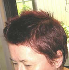 Purple Hair Dyeing Hair Purple