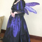 Ice Princess as a Rococo Dragonfly - Norwescon 04 - The Purple Store