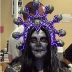 Lauren M.'s Glowing Purple Headdress - The Purple Store