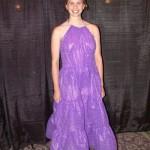 Purple Bubble Wrap Dress