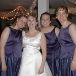 Shane & Laney's Purple Bridal Party