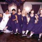 Janey's Purple Bridal Party