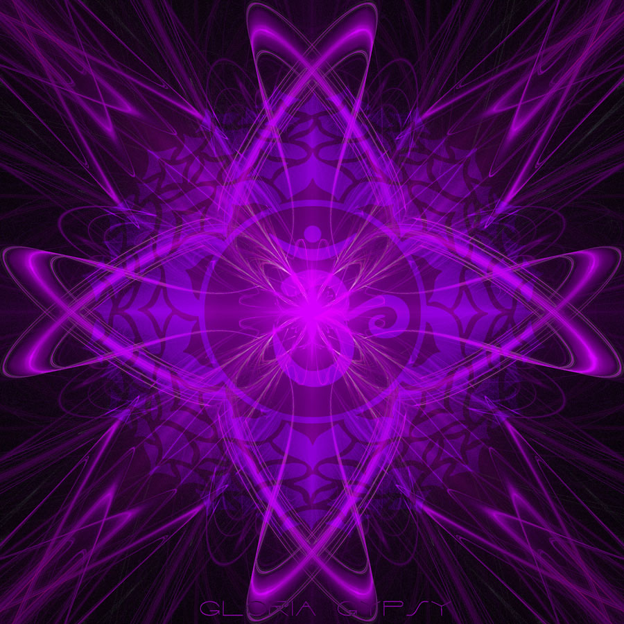 In The Color Spectrum Purple Has Shortest Wavelength And Vibrates At Highest Frequency Which To Many Cultures Symbolizes Seventh Chakra