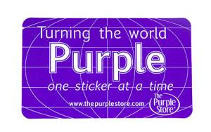 Free Purple Sticker