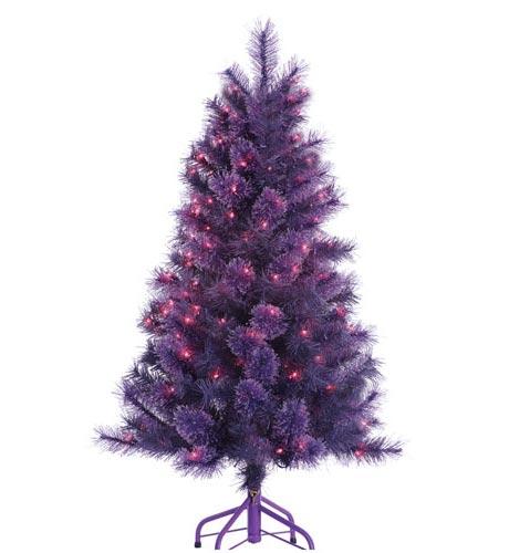 4 Foot Winter Twilight Tree 16194 B