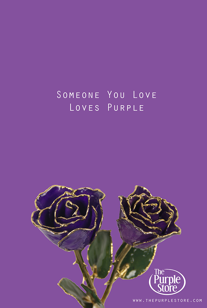 Someone You Love Loves Purple The Purple Store S Purple