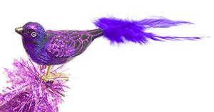 Purple Bird Ornament - The Purple Store