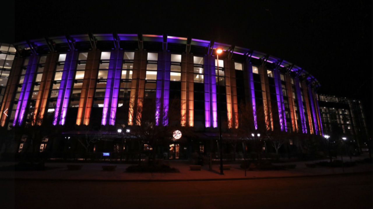 Denver Nuggets Purple and Gold for Kobe Bryant