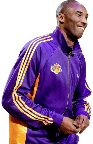 Kobe Bryant in Purple - with our thanks